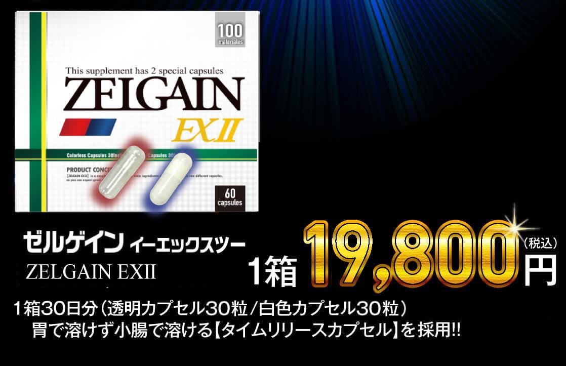 ゼルゲイン イーエックス 35%OFF 1箱12,800円(税込)
